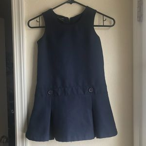 GEORGE :| Sleeveless Uniform Dress.NAVY.Girl's:6.
